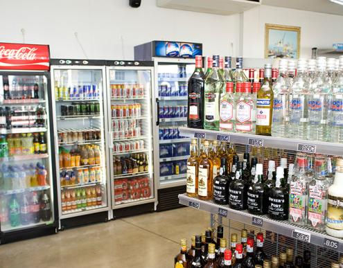 Total drink and alcohol shop